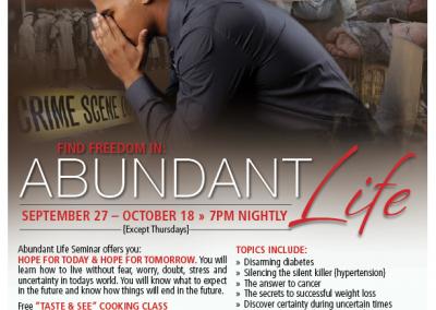 Abundant Life Ohio Poster