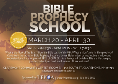 Bible Prophecy School 2