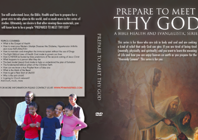 Prepare to Meet Thy God Evangelistic Series