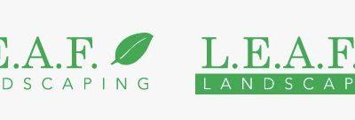 Leaf Landscaping Logo