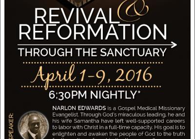 Sanctuary Revival Poster