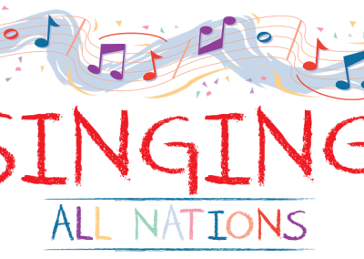 Singing All Nations Logo